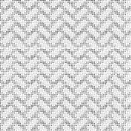 Halftone Isolated on Black Background. Dotted Abstract  Texture. Dirty Damaged Spotted Circles Pattern.