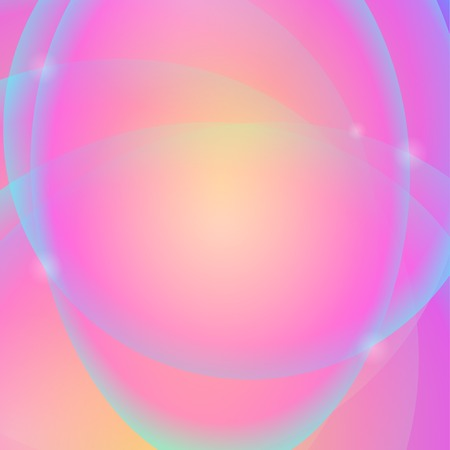 abstract pink: Abstract Pink Yellow Background. Abstract Pink Circle Pattern. Illustration