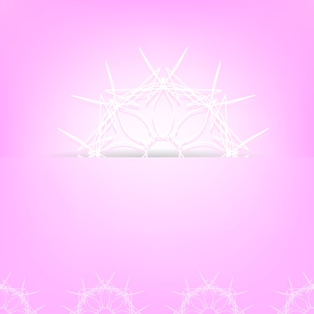 abstract pink: Abstract Pink Ornamental Background. Abstract Pink Pattern.