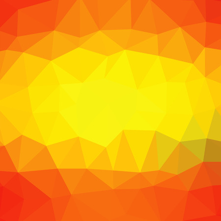 red yellow: Abstract Polygonal Background Consists of Red, Yellow, Orange Triangles.