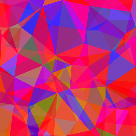 red and blue: Abstract Red Blue Polygonal Background. Abstract Red Blue Geometric Pattern.