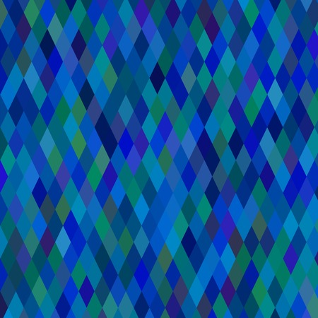 Abstract Blue Geometric Background. Abstract Blue Pattern. Illustration