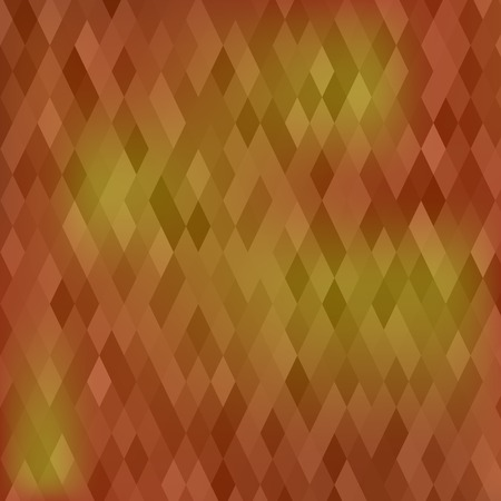 Abstract Brown Geometric Background. Abstract Polygonal Pattern.