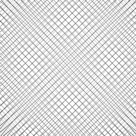흰색 배경에 검정색 질감입니다. 그리드 패턴.