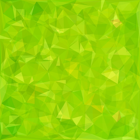 Abstract Green Triangle Background. Abstract Green Pattern. Illustration