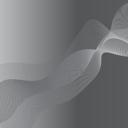 grey background texture: Grey Wave Texture on Grey Light Background Illustration
