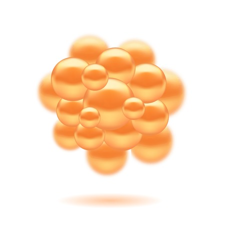methane: Abstract Molecules Design. Set Molecules Spheres Abstract background . Molecular Structure  Atoms. Medical Background for Banner.