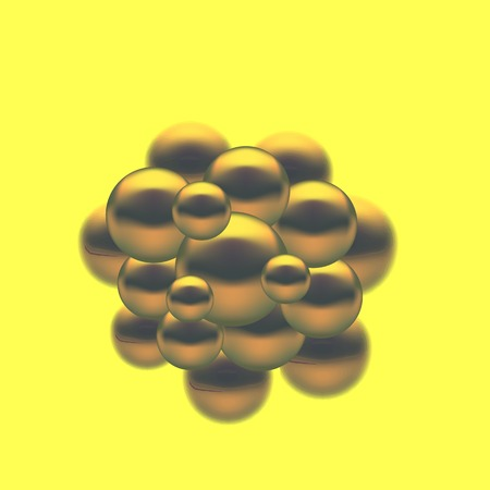 fission: Abstract Molecules Design. Set Molecules Spheres Abstract background . Molecular Structure  Atoms. Medical Background for Banner.