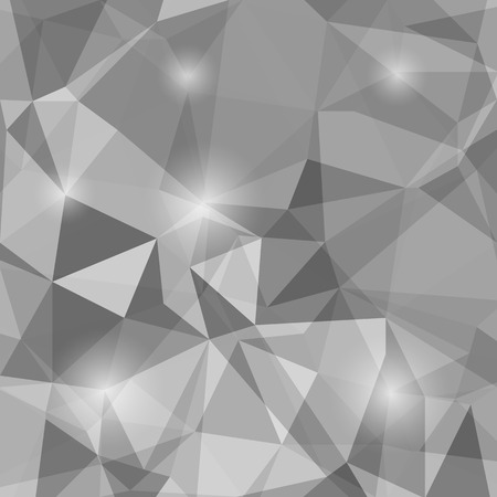 Abstract Polygonal Background. Abstract Geometric Grey Pattern