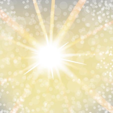 shine background: Spring Shine Sun Light on Blurred Background