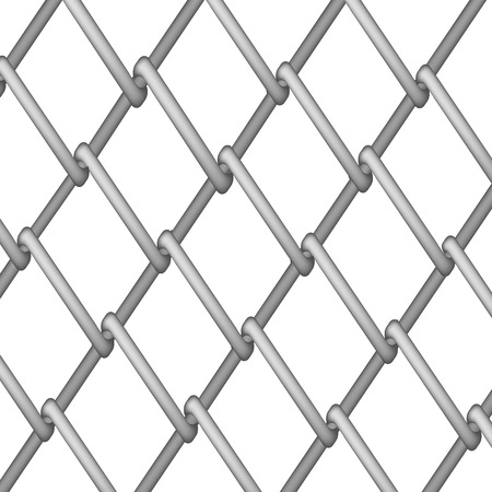 chained link fence: Steel Fence. Metal Texture. Steel Metal Wire Illustration