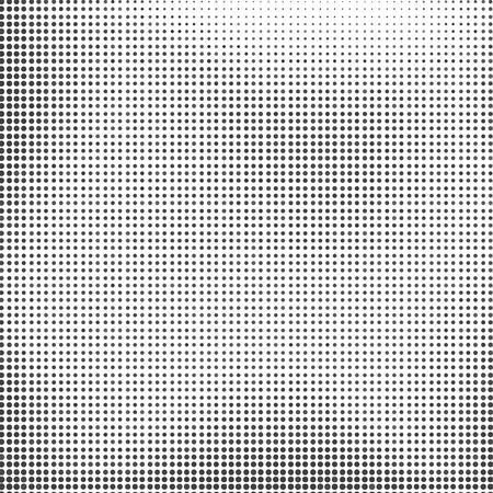 Grey Halftone Background. Grey Dotted Halftone Pattern