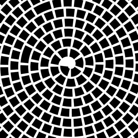 mesmerize: Vector Black Spiral Background. Hypnotic Monochrome Sripal Pattern Illustration