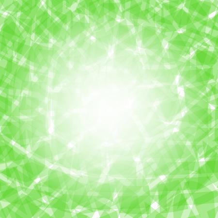fondo verde abstracto: Fondo verde abstracta. Extracto verde elegante del patr�n Vectores