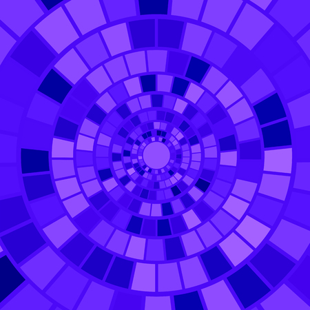 hypnotism: Blue Mosaic Background. Hypnotic Blue Mosaic Pattern