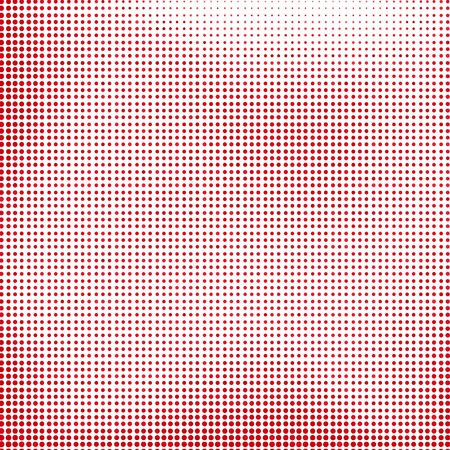 graphic texture: Red Halftone Background. Red Dotted Halftone Pattern