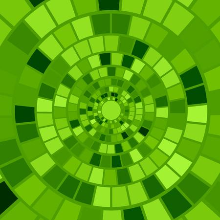 hypnotism: Antecedentes del mosaico verde. Hypnotic Modelo de mosaico verde Vectores
