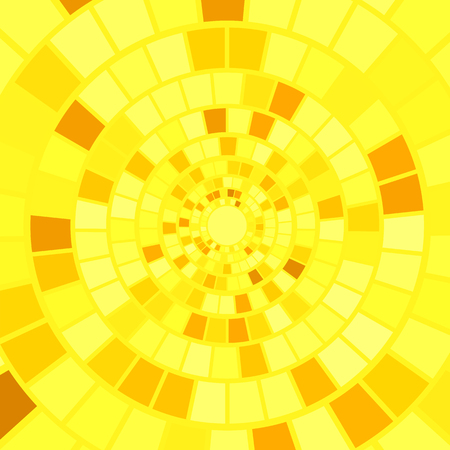 yellow: Yellow Mosaic Background. Hypnotic Yellow Mosaic Pattern