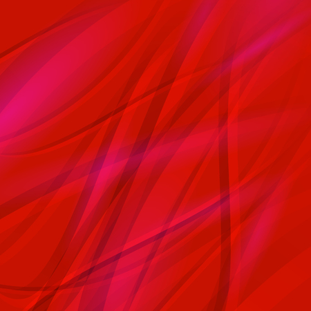 red wave: Abstract Red Wave Background. Line Red Wave Pattern. Illustration