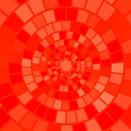 mesmerize: Red Mosaic Background. Decorative Red Mosaic Pattern Stock Photo