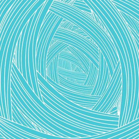 azure: Abstract Azure Wave Background. Abstract Wave Pattern. Illustration