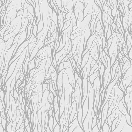 grey pattern: Grey Trees on Grey  Background. Grey Natural Pattern