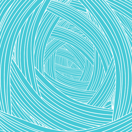 azure: Abstract Azure Wave Background. Abstract Wave Pattern. Stock Photo