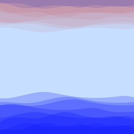 Abstract Blue Wave Background. Blue Water Background