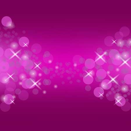 blurred lights: Abstract Pink Circle Background. Blurred Lights Pattern Illustration