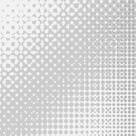 Set of  Halftone Dots.  Dots on White Background. Halftone Texture. Halftone Dots.