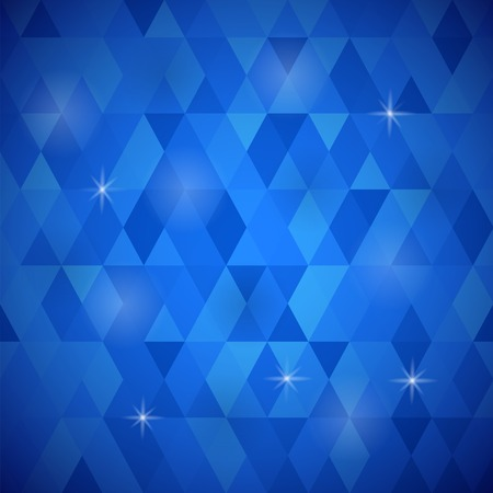 rapport: Abstract Blue Background. Blue Geometric Retro Mosaic Pattern