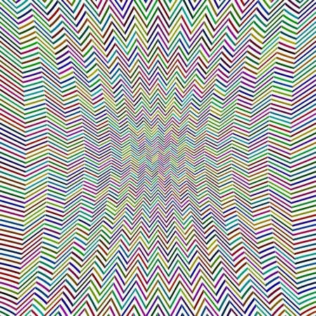 zag: Abstract Zig Zag Pattern. Colorful Line Background.
