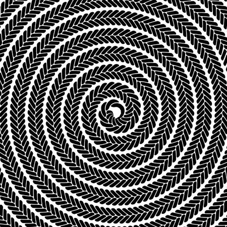 spiral pattern: Abstract Dark Spiral Pattern. Abstract Black Spiral Background Illustration