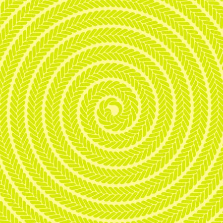 spotted line: Abstract Yellow Spiral Pattern. Abstract Yellow Spiral Background