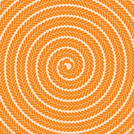 spiral pattern: Abstract Orange Spiral Pattern. Abstract Orange Spiral Background