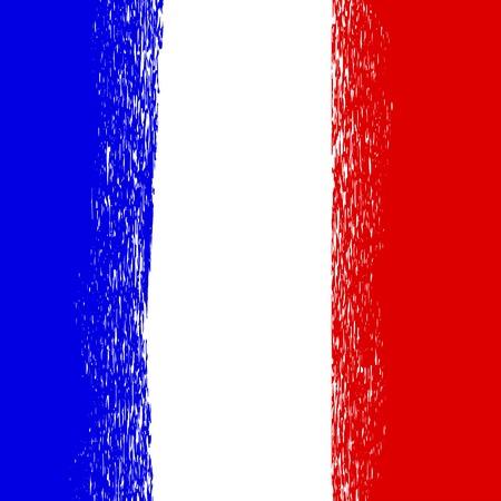 national colors: Flag of France. French National  Colors Background Illustration
