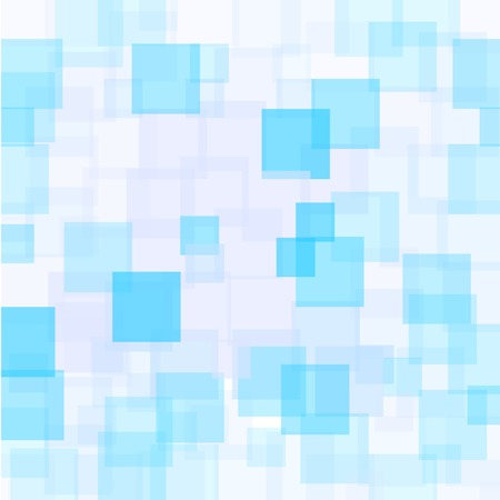 Abstract Azure Squares Background. Abstract Azure Squares Futuristic Pattern