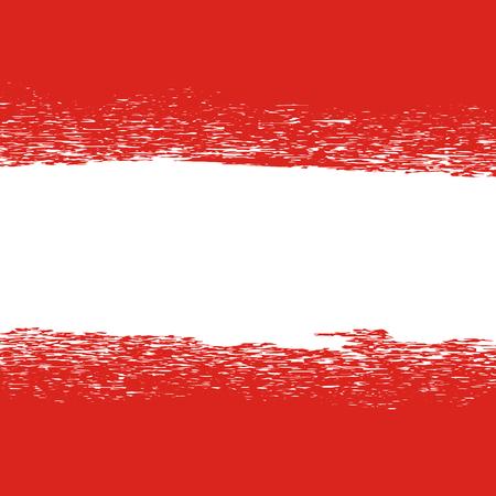 fondo rojo: Bandera de Austria. Patr�n de la bandera. Bandera austr�aca grunge Vectores