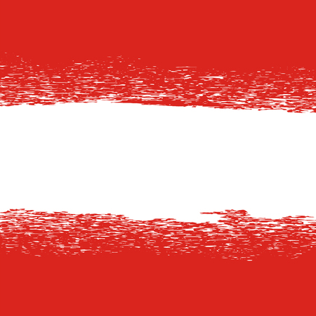 red sign: Flag of Austria. Flag Pattern. Grunge Austrian Flag