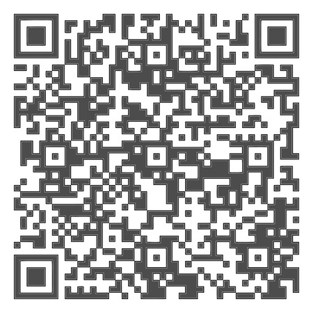 barcode scan: Product Barcode 2d Square Label Isolated on White Background. Sample QR Code Ready to Scan with Smart Phone