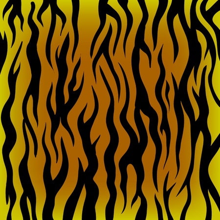 black tiger: Tiger Pattern. Black and Orange Animal Background.Skin of Tiger