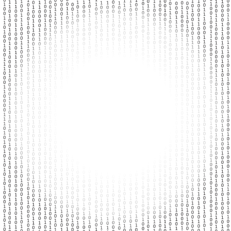 encoding: Binary Code Background. Concept Binary Code Numbers. Algorithm Binary, Data Code, Decryption and Encoding.