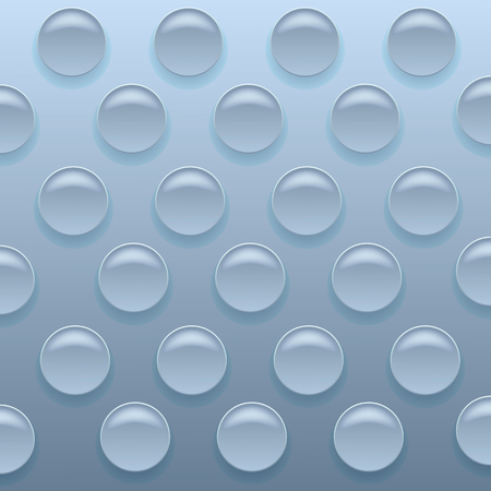 Blue Bubblewrap Achtergrond. Blauwe Plastic Packing Tape