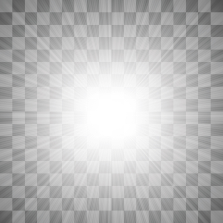 glint: Spotlights on Dark Checkered Background. Stage Spotlight Background