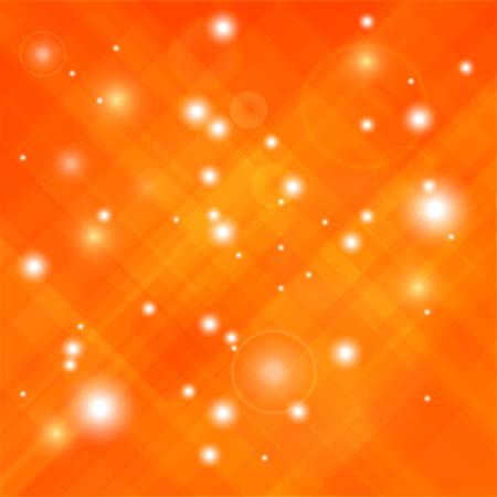 Abstrait fond orange élégant. Motif orange abstrait Vecteurs