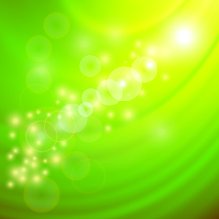 flux: Abstract Light Green Wave Background. Blurred Green Pattern.