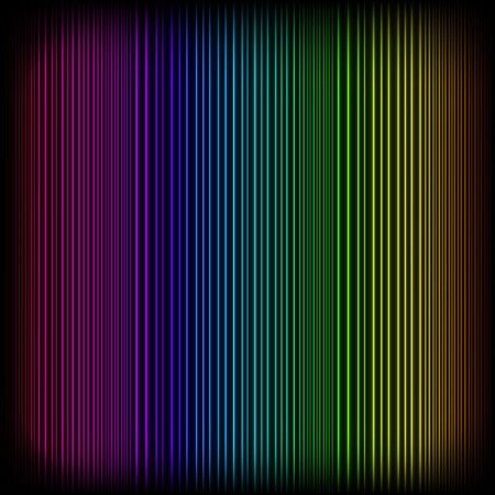 Bright Neon Lines Background. Abstract Colorful Neon Pattern. Colorful Neon Pattern. Striped Neon Background.