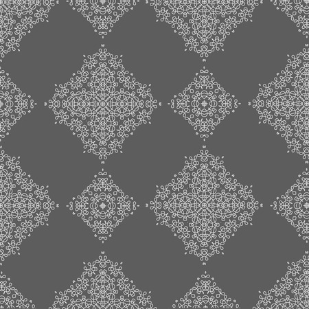grey background texture: Texture on Grey. Element for Design. Ornamental Backdrop. Pattern Fill. Ornate Floral Decor for Wallpaper. Traditional decor on Background