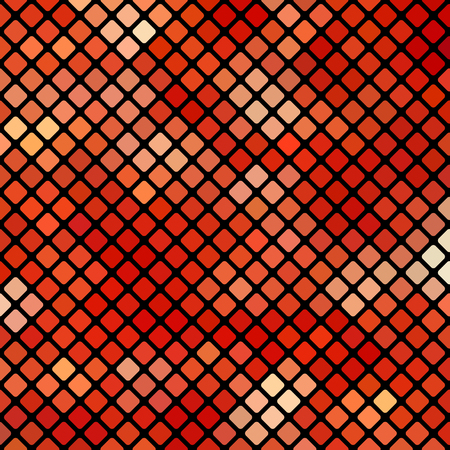 polychromatic: Red Square Pattern. Abstract Red Square Background