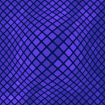 polychromatic: Blue Square Pattern. Abstract Blue Square Background